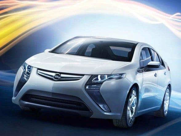 Opel Ampera xenon vervangen