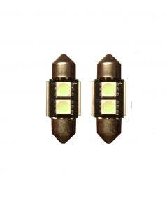 2-SMD-Canbus-LED-binnenverlichting-31mm-groen
