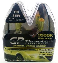 GP Thunder 3500k H8 Xenon Look - gold retro look 35w