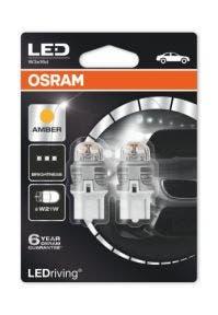 OSRAM-LEDriving -W21W-12V-Oranje-O-7905YE-02B