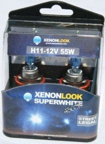 Xenonlook-Super-White-H11-4300K-55w