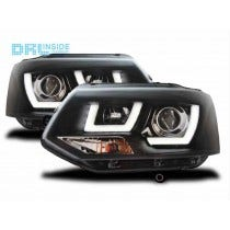 LED koplamp unit Black geschikt voor VW Transporter T5