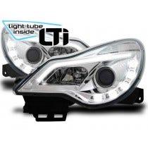 LED koplamp unit Chrome geschikt voor Opel Corsa D