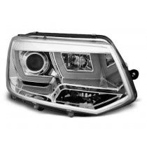 VW T5 U Type Chrome LED Unit