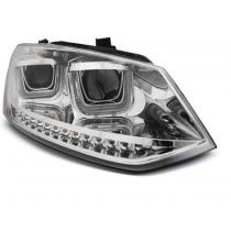 VW POLO 6R 09-03.14 U-TYPE LED Chrome Unit