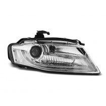 Audi-A4-B8-Chrome-koplamp