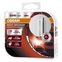 Osram Night Breaker Unlimited 4350K D2S duobox 66240XNB