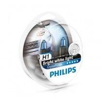 Philips Crystal Vision H1 + W5W Stadslicht