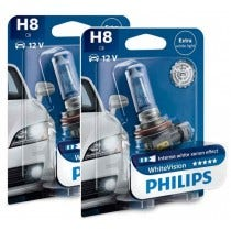 Philips WhiteVision set 3700k - H8 - (2 losse blisters)
