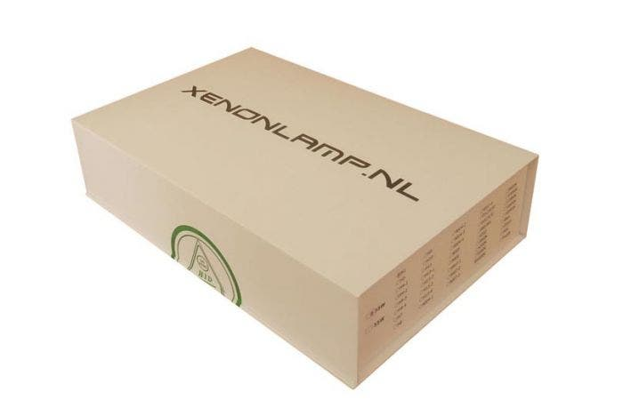Xenonlamp.nl Xenon ombouwset Slim Canbus met C-lamp-5000k-h7