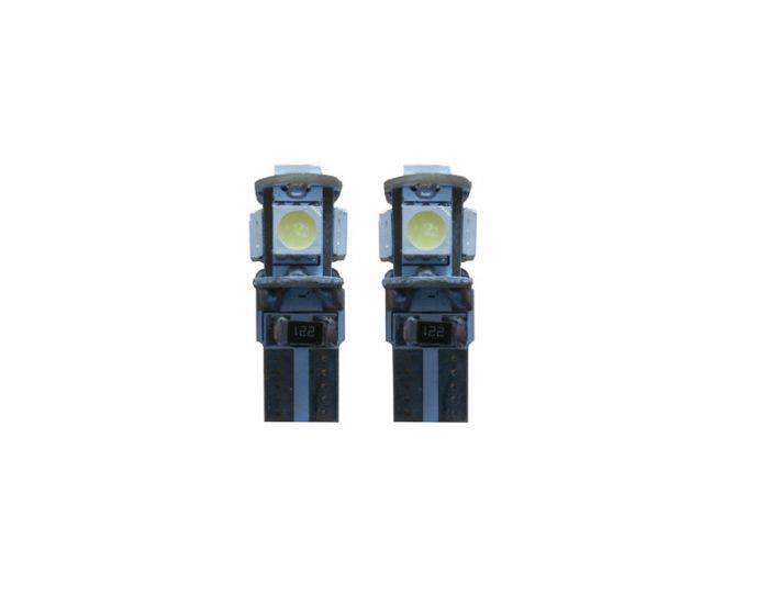 Canbus LED 5 SMD W5W binnenverlichting groen