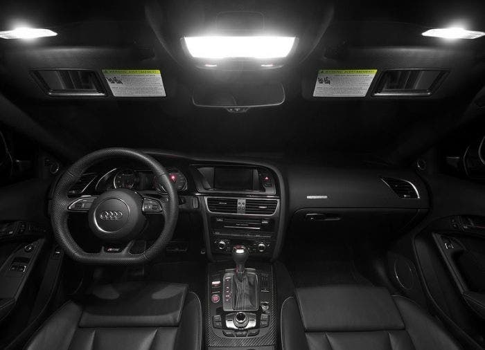 Audi A5 coupe LED binnenverlichtingspakket - Basis-pakket-2