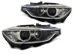 BMW-F30/F31-10.11-05.15-Black-LED-Angel-Eyes-Unit