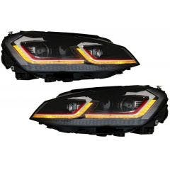 LED-koplamp-units-Golf-7-Facelift-GTI-Look-dynamisch-knipperlicht