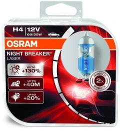 OSRAM Night Breaker Laser H4 55W 64193NBL-HCB 2e Kans