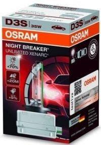 Osram Night Breaker Unlimited Xenarc D3S 66340XNB