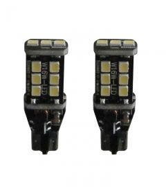 15 SMD Canbus LED W16W-T15 rood