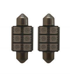 6-SMD-LED-binnenverlichting-36mm-rood