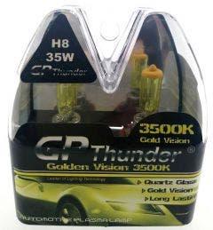GP Thunder 3500k H8 Xenon Look - gold retro look 35w