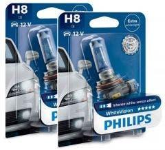 Philips WhiteVision set 3700k - H8 - (2 losse blisters)