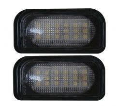 Mercedes-W203-4deurs-LED-kentekenverlichting-unit