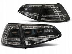 VW Golf 7 LED achterlicht units met dynamisch knipperlicht Black Smoke
