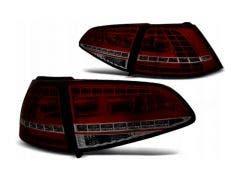 VW Golf 7 LED achterlicht units met dynamisch knipperlicht Red Smoke