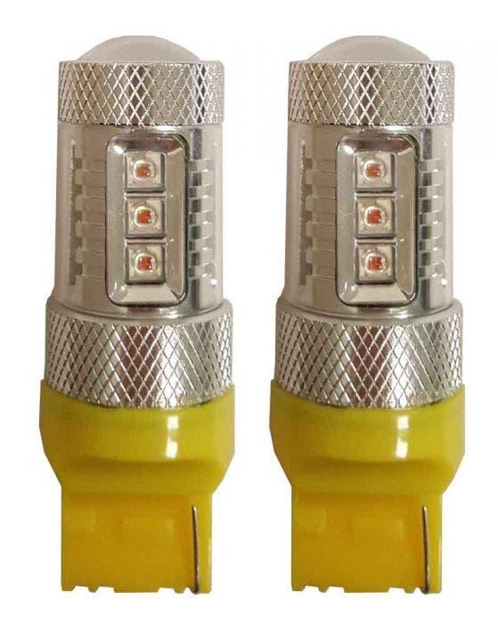 50W Canbus LED W21W-T20 Oranje