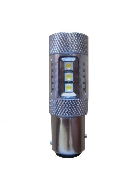 Dagrijverlichting 50w Canbus LED vervangingslampen - BA15s - wit
