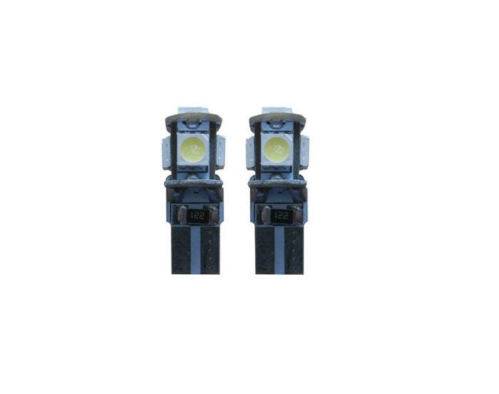 Canbus LED 5 SMD W5W binnenverlichting rood