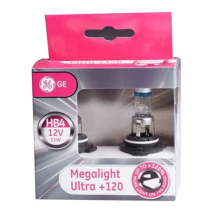 GE Megalight Ultra +120 - HB4 set