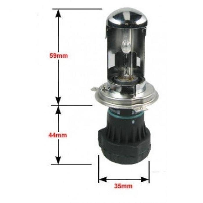 H4 Bi-Xenon 6000k vervangingslamp +50% Xenonlamp.nl Private Label