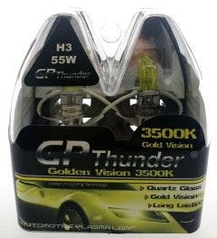 GP Thunder 3500k H3 Xenon Look - gold retro look 55w