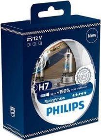 Philips RacingVision H7 Set 12972RVS2 2e Kans