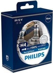 Philips RacingVision 150% H4 Set 12342RVS2