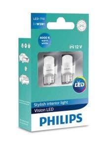 Philips Ultinon LED W5W T10 4000k 11961ULW4X2
